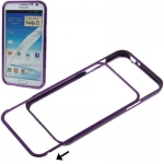 Aluminum Bumper Samsung Galaxy Note II , N7100 (Purple)