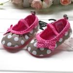 BE2031 (Pre) รองเท้าผ้า สาวน้อย (0-1 ขวบ)