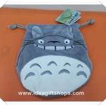 ถุงผ้าหูรูด ลาย Totoro โตโตโร่ ขนาด 7x8 นิ้ว (ซื้อ 12 ชิ้น ราคาส่งชิ้นละ 100 บาท)