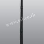 โคมไฟหัวเสาสนามนอกบ้าน SL-11-5051CF-BK-3A