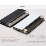 Zenus : Minimal Diary / Carrying Case For Galaxy S7 Edge