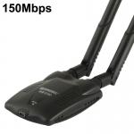 usb wifi wireless 150Mbps 3800mW 2 เสา simerst x990