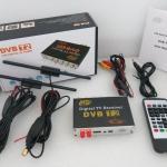 DVB-T2 กล่องรับสัญญาณดิจิตอล แบบติดรถยนต์ 2เสาบูสเตอร์ (maxspeed 150km/h)