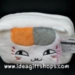 แมวน้อย เนียนโกะ เซ็นเซย์ กระเป๋าใส่ของจุ๊กจิ๊ก เครื่องสำอางค์ นุ่มนิ่มน่ารักมากๆค่ะ