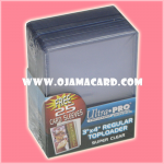 "Ultra•Pro 3"" X 4"" Clear Toploader 25ct."