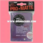 Ultra•Pro Pro-Matte Standard Deck Protector / Sleeve - Purple 50ct.