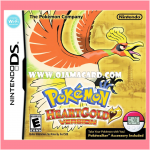 Pokémon HeartGold Version for Nintendo DS (US) 95% + Pokéwalker (JP) 95%