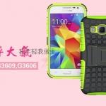 (427-006)เคสมือถือซัมซุง Case Core Prime เคสนิ่มพื้นหลังพลาสติกแข็งขอบสีกันกระแทก