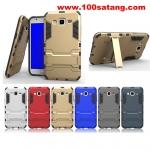 (394-002)เคสมือถือซัมซุง Case Samsung Galaxy J7 เคสนิ่มกันกระแทกสองชิ้นประกบสไตล์ Iron Man