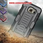 (002-092)เคสมือถือซัมซุง Case Samsung S6 edge plus เคสกันกระแทกขอบสีรุ่นเหน็บเอว