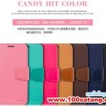 (008-012)เคสมือถือซัมซุงโน๊ต Case Note3 เคสสมุดไดอารี่ CANDY HIT COLOR