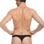 """กางเกงในแบบ Bikini Thongs JQK สีดำ ไซส์ L (31-33"""")"""