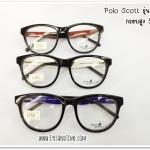 กรอบแว่นสายตา Polo Scott รุ่น 039 ทรงหยดน้ำ พลาสติก