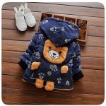 เสื้อกันหนาวหมีน้อยสีกรม สำหรับอายุ 1-4 ปี น่ารักมากค่ะ