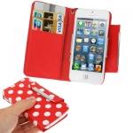 Case เคส Dot Pattern iPhone 5 (Red)