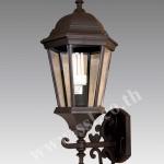 โคมไฟผนังนอกบ้าน SL-10-5020WC-BK