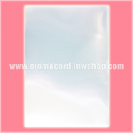 Premium Small Size Card Protector / Sleeve - Clear 100g. (~200ct.)