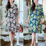 Lotus Bouquet - Ariel Dress มี 2 สีค่ะ