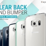 Spigen : Ultra Hybrid Clear Case + 1 Back Protector For Samsung Galaxy S6 Edge
