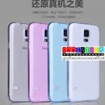 (027-018)เคสมือถือซัมซุงกาแล็คซี่เอส 5 Samsung Galaxy Case เคสนิ่มใสบาง 0.3มิล