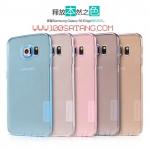 (385-043)เคสมือถือซัมซุง Case Samsung S6 edge พรีเมี่ยมเคสนิ่มใสบางสไตล์ Nillkin Nature