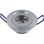 LED Downlight 1W - กลม