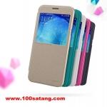 (385-009)เคสมือถือซัมซุง Case Samsung A8 เคสพลาสติกฝาพับ PU Nillkin SPARKLE แบรนด์ดัง