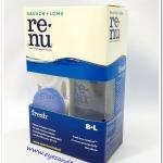 น้ำยาล้างคอนแทคเลนส์ Renu 60 ml. (ขวดเล็ก)