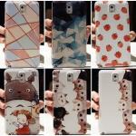 (440-100)เคสมือถือซัมซุงโน๊ต Case Note3 เคสพลาสติกแทนฝาหลังเดิมลายน่ารักๆ