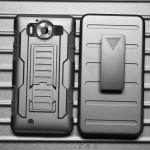 (002-096)เคสมือถือ Microsoft Lumia 950 เคสนิ่มพื้นหลังพลาสติกแข็งกันกระแทกสุดฮิตเหน็บเอวได้
