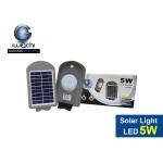 โคมไฟถนนโซล่าเซลล์ IWC STR SOLAR DJ602 5W