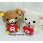 ตุ๊กตาน้องหมี Rilakkuma และ Korilakkuma คู่หัวใจ (ราคาต่อคู่ค่ะ)