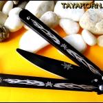 มีดซ้อมควง ปาปิญอง Papillon Balisong Trainer Knife TKBS-PP5TR