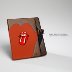 Zenus : Rolling Stones Tongue Cambridge Diary Case for Samsung Galaxy Note 10.1 (2014 Edition)