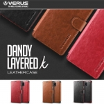 VERUS : Dandy Layered K PU Leather Two Tone Diary Case For Galaxy Note 4