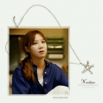 "It's ok, that's Love, Korean Series, Star Pearl Silver Necklace สร้อยคอสีเงินรูปดวงดาวประดับมุก นางเอกซีรี่ส์ ""ถ้ารักกันมันก็โอเค"""