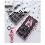 (430-005)เคสมือถือซัมซุงโน๊ต Case Note3 เคสนิ่มพื้นหลังแววลายตาราง