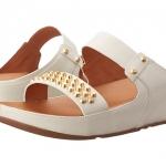 FitFlop Amsterdam Studded Slide Dress Sandal - Urban White US 9