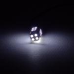 หลอดไฟหรี่ LED รถยนต์ แบบ 28 ดวง สีขาว