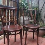 เก้าอี้เชคโกตราสิงห์โตงานเก่า 2ตัว รหัส4959cs