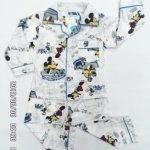 (เด็กเล็ก) ชุดนอนแขน-ขายาว ลายมิกกี้เม้าส์ Mickey Mouse ผ้ายืดผสม cotton งานกุ๊นดี พิมพ์สวย ผ้าใส่สบายค่ะ size 1-4