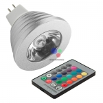 LED Spotlight MR16 3W RGB