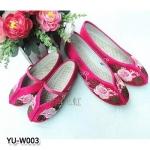 YU-W003 รองเท้าจีน ไซส์ 35-40 / 15-22 cm
