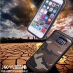 (385-109)เคสมือถือซัมซุง Case Samsung S6 edge plus เคสกันกระแทกแบบหลายชั้นลายพรางทหาร
