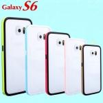 (423-009)เคสมือถือซัมซุง Case Samsung S6 เคสบัมเปอร์ทูโทนประกบสองชิ้น