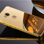 (025-076)เคสมือถือ Case Huawei GR5 เคสกรอบโลหะพื้นหลังอะคริลิคแวววับคล้ายกระจกสวยหรู
