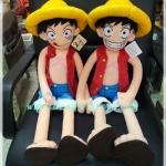 ตุ๊กตา Luffy ขนาด 34 นิ้ว