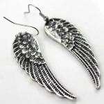 Angel Wing Silver Earing ต่างหูรูปปีกนางฟ้าสีเงิน เซอร์สุด