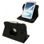 ซองหนัง แบบพลิกแนวนอน หมุนได้ 360 องศา 2สี Samsung Galaxy Note 8.0 (N5100) (Black)