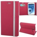 Case เคส Magnetic Buckle Samsung Galaxy Grand Duos (i9082)(Magenta)